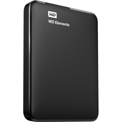 Внешний жесткий диск 1Tb Western Digital Portable Elements WDBUZG0010BBK USB 3.0 Черный