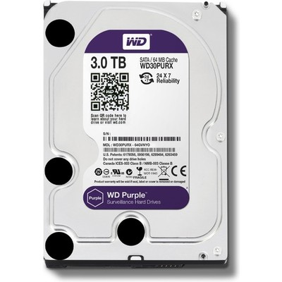 Жесткий диск 3TB Western Digital WD30PURX Purple