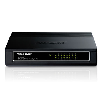 Коммутатор TP-LINK TL-SF1016D 16-port 10/100M