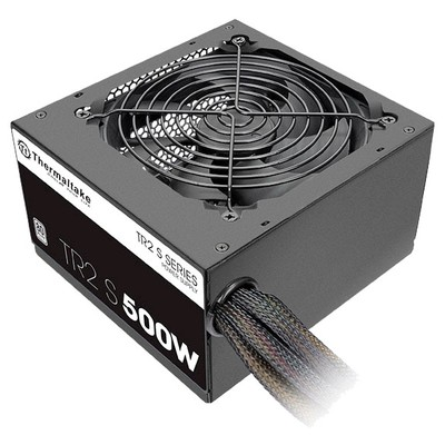 Блок питания Thermaltake ATX  500W TR2 S 500W 80 PLUS APFC, 120mm fan, RTL