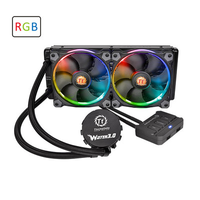 Кулер Thermaltake CL-W107-PL12SW-A Water 3.0 Riing RGB 240