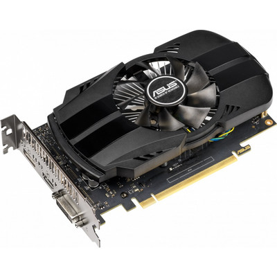 Видеокарта ASUS GeForce GTX 1650 (TU117-300-A1/12nm) (1485/8002) GDDR5 4096Mb 128-bit, PCI-E 16x 3.0, TDP-75W. ( PH-GTX1650-4G )