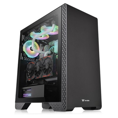 Корпус Thermaltake S300 Tempered Glass CA-1P5-00M1WN-00