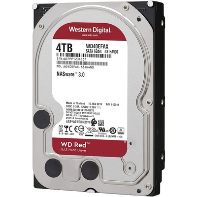 Жесткий диск 4000Gb WD RED series WD40EFAX