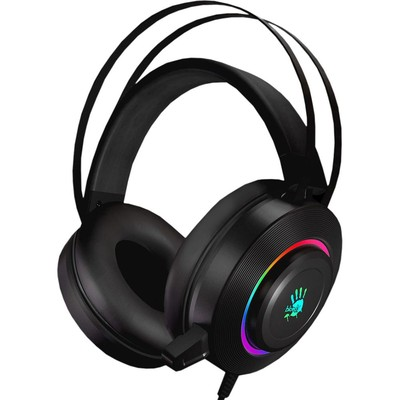 Гарнитура Gaming headset A4TECH BLOODY G521 черный 2.3м USB